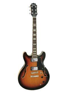 DIMAVERY SA-610 Jazz Guitar, sunburst