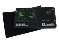 DIMAVERY SGBM-200 Tuner Metronome bk