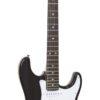 DIMAVERY ST-203 E-Guitar, black