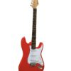 DIMAVERY ST-203 E-Guitar, red