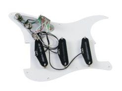 DIMAVERY ST pickguard, 3x single coil white