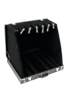 DIMAVERY Stand Case for 6 Guitars