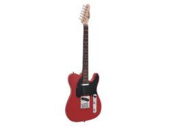 DIMAVERY TL-401 E-Guitar, red