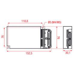 DUALdrive AC 50 W Constant Current DL0560A1 Dali x2 regolatore di corrente