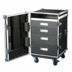 Drawercase 12HE + work surface Baule con cassetti 12HE + superficie di lavoro