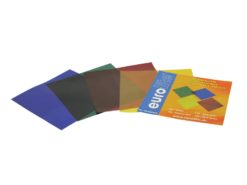 EUROLITE Color-Foil Set 19x19cm, four colors