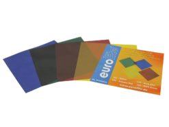 EUROLITE Color-Foil Set 24x24cm,four colors