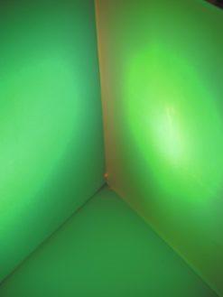 EUROLITE Dichro, light green, frost, 165x132mm