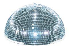 EUROLITE Half Mirror Ball 20cm motorized