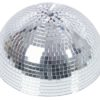 EUROLITE Half Mirror Ball 30cm motorized