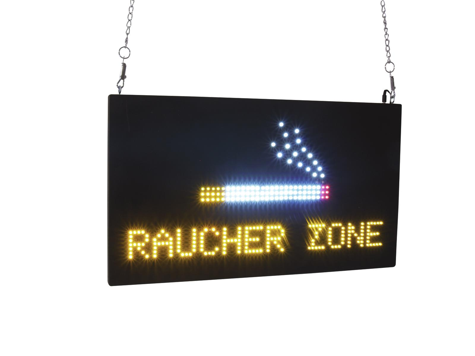 Sophisticated Raucherzone Gallery Of Eurolite Led Sign
