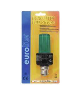EUROLITE LED Strobe B-22 green