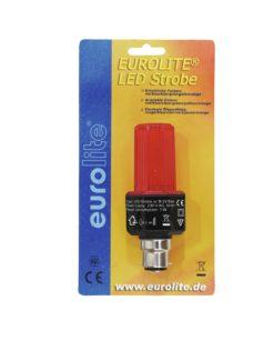 EUROLITE LED Strobe B-22 red
