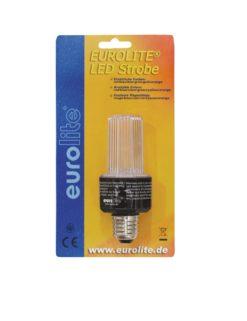 EUROLITE LED Strobe E-27 clear