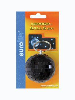EUROLITE Mirror Ball 5cm black