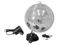 EUROLITE Mirror Ball Set 30cm with LED Spot