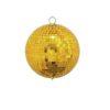 EUROLITE Mirror ball 15cm gold