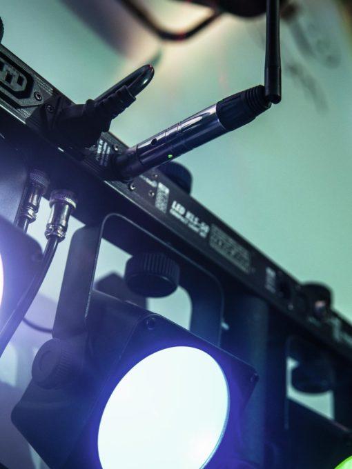 EUROLITE QuickDMX Wireless receiver phantom-power