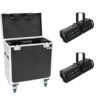EUROLITE Set 2x LED PFE-120 3000K + Case