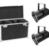 EUROLITE Set 2x LED THA-100F Theater-Spot + Case