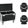 EUROLITE Set 2x LED TMH FE-1800 + Case