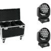 EUROLITE Set 2x LED TMH-X5 + Case