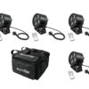 EUROLITE Set 4x LED PS-4 HCL Spot + SB-4 Soft-Bag