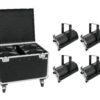 EUROLITE Set 4x LED THA-120PC Theater-Spot + Case