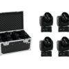 EUROLITE Set 4x LED TMH FE-300 Beam/Flower effect + Case