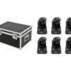 EUROLITE Set 6x LED TMH-8 + Case