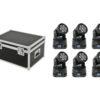 EUROLITE Set 6x LED TMH-9 + Case