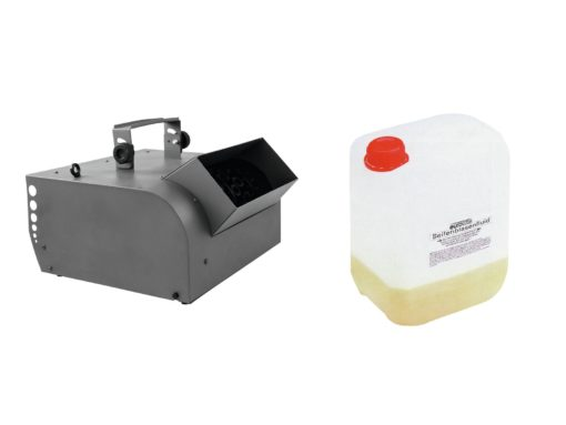 EUROLITE Set BW-200 Bubble machine + bubble concentrate for 5l