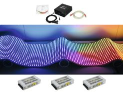 EUROLITE Set DF-40 LED-Display 92x92 + Control system