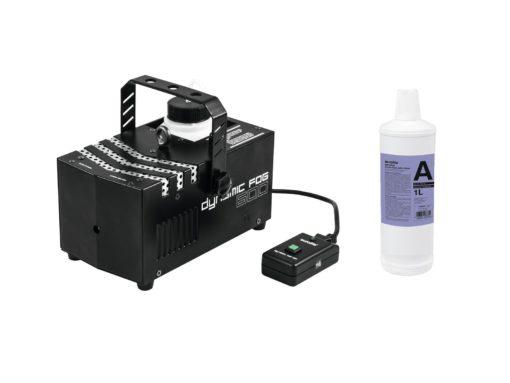 EUROLITE Set Dynamic Fog 600 + Smoke fluid -A2D- 1l