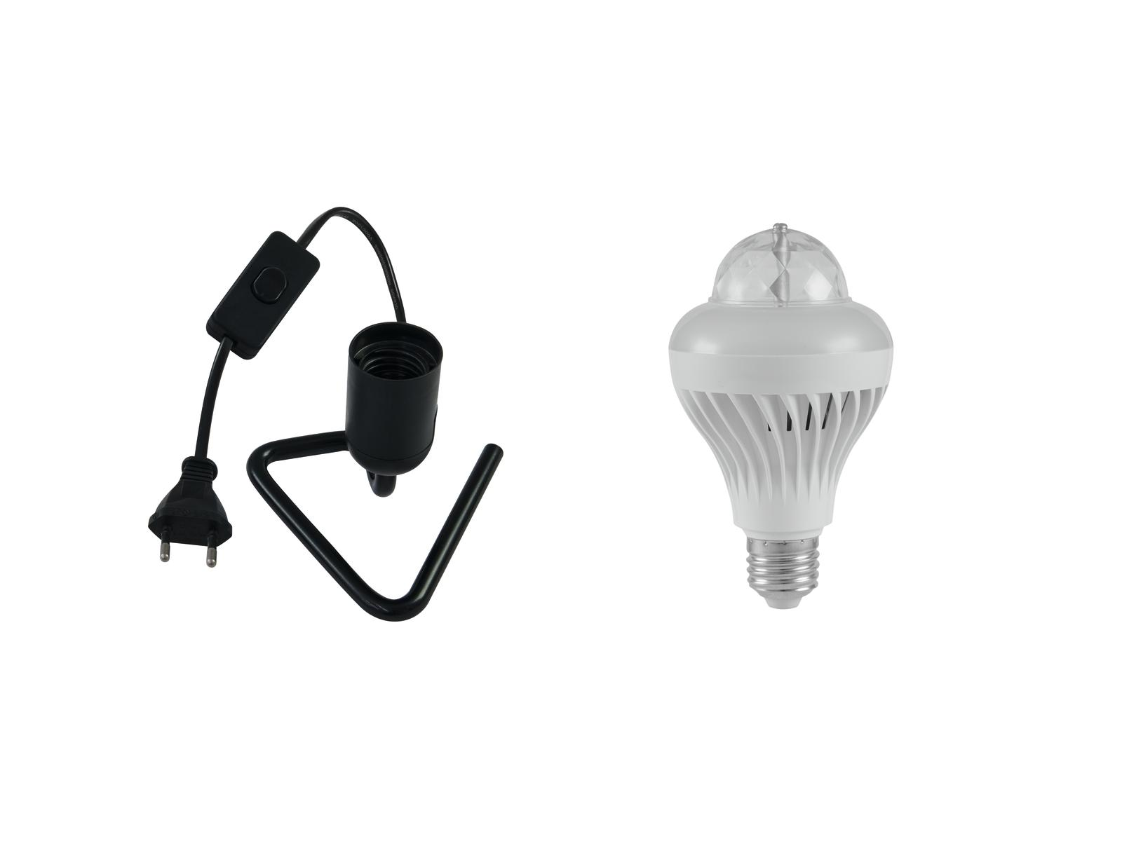 EUROLITE Set LED BCL-1 + Triangle base black