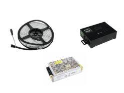 EUROLITE Set LED IP Pixel Strip 160 5m + Trafo + Artnet-DMX Node