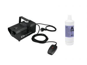 EUROLITE Set N-10 black + A2D Action smoke fluid 1l