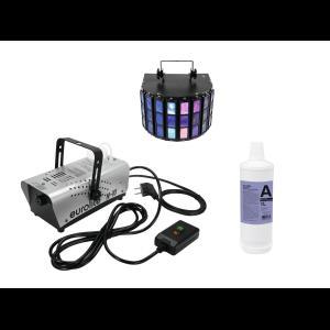 EUROLITE Set N-10 silber + A2D Fluid 1l + LED Mini D-5
