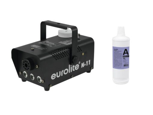 EUROLITE Set N-11 LED Hybrid amber fog machine + A2D Action smok