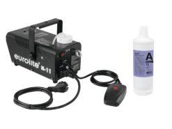 EUROLITE Set N-11 LED Hybrid blue fog machine + A2D Action smoke