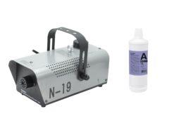EUROLITE Set N-19 Smoke machine silver + A2D Action smoke fluid