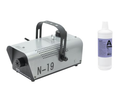 EUROLITE Set N-19 Smoke machine silver + A2D Action smoke fluid