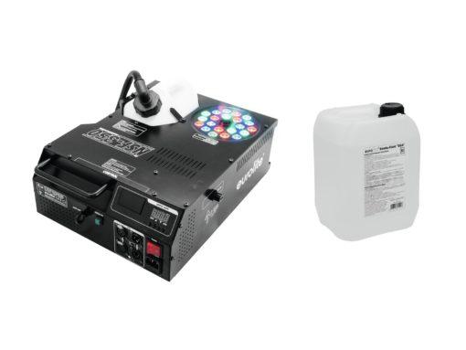 EUROLITE Set NSF-350 + Smoke Fluid -DSA- 5l