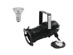 EUROLITE Set PAR-20 Spot bk + PAR-20 230V SMD 6W E-27 LED 6500K