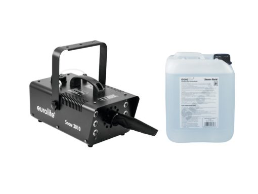 EUROLITE Set Snow 5001 Snow machine + Snow fluid 5l