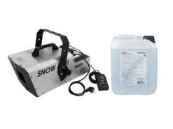 EUROLITE Set Snow 6001 Snow machine + Snow fluid 1l