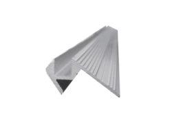 EUROLITE Step Profile 10x10mm silver 4m