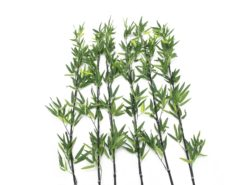 EUROPALMS Bamboo tube with leaves, 180cm, sixpack