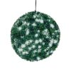 EUROPALMS Boxwood ball with white LEDs, 40cm