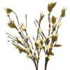 EUROPALMS Camellia bow, with LEDs, white, 50cm